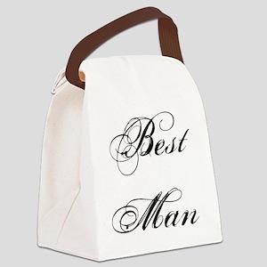 Best Man Canvas Lunch Bag