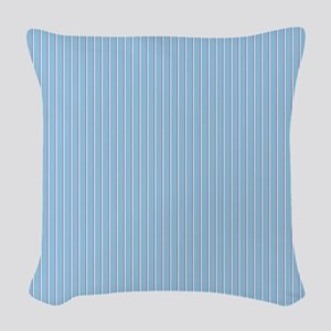 Pinstripe-2-color_Large Woven Throw Pillow