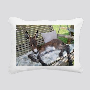 Lazy Ass Rectangular Canvas Pillow