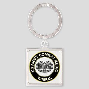 US ARMY COMBAT MEDIC Square Keychain