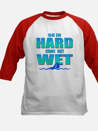 Go In Hard Kids Baseball Jersey