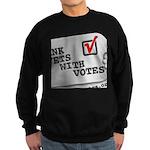 Thank Vets With Votes Sweatshirt
