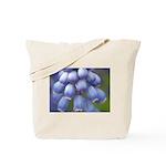 Blue Grape Hyacinth Tote Bag