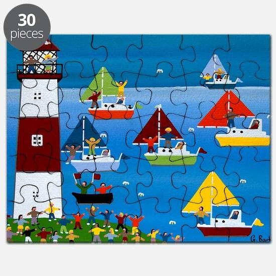 Boat race Puzzle