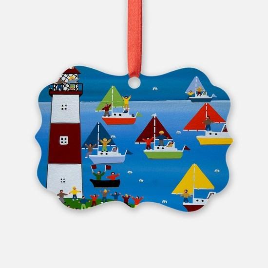Boat race Ornament