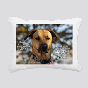 Cody He Is Your Friend Y Rectangular Canvas Pillow