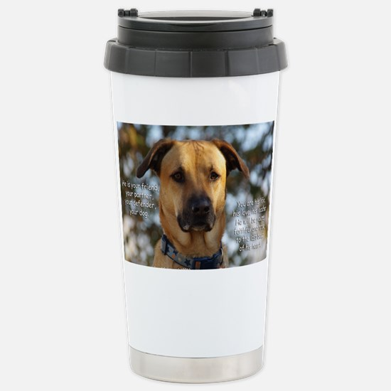 Cody He Is Your Friend  Stainless Steel Travel Mug