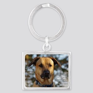 Cody He Is Your Friend You Are  Landscape Keychain