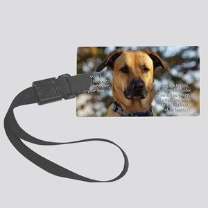 Cody He Is Your Friend You Are H Large Luggage Tag