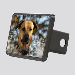 Cody He Is Your Friend You Rectangular Hitch Cover