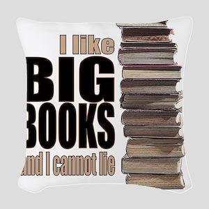 Big Books Woven Throw Pillow