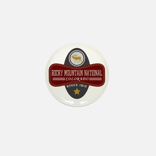 Rocky Mountain Natural Marquis Mini Button