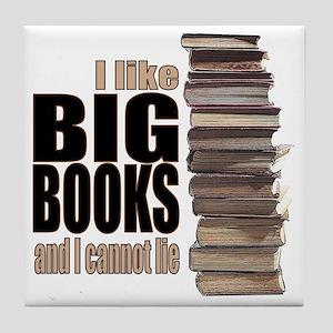 Big Books Tile Coaster
