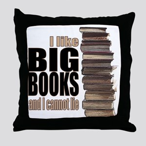 Big Books Throw Pillow