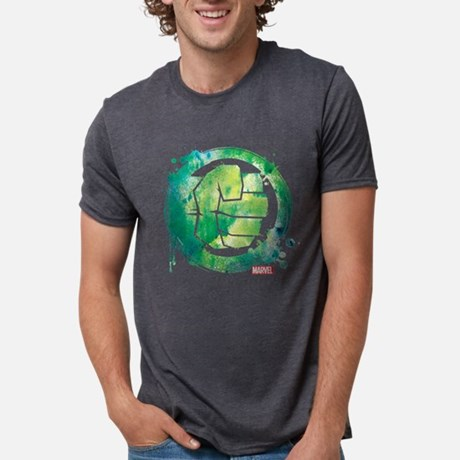 Hulk Paint Icon Tri-Blend T-shirt