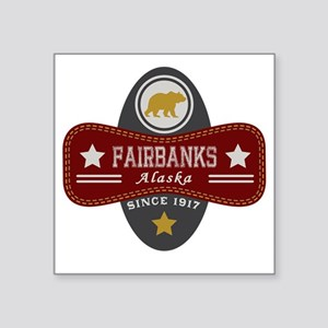 "Fairbanks Nature Marquis Square Sticker 3"" x 3"""