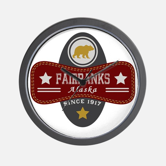 Fairbanks Nature Marquis Wall Clock