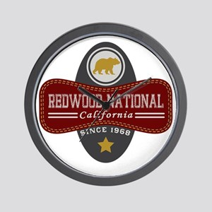 Redwood Natural Marquis Wall Clock