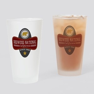 Redwood Natural Marquis Drinking Glass
