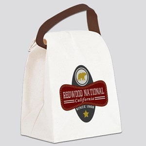 Redwood Natural Marquis Canvas Lunch Bag