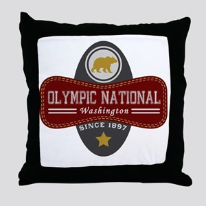 Olympic Natural Marquis Throw Pillow