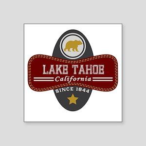 "Lake Tahoe Nature Marquis Square Sticker 3"" x 3"""