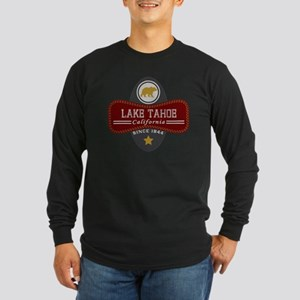 Lake Tahoe Nature Marquis Long Sleeve Dark T-Shirt