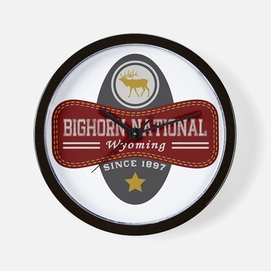 Bighorn Natural Marquis Wall Clock