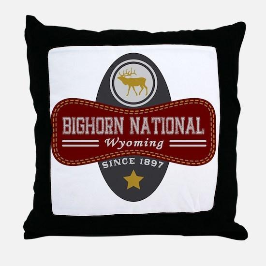 Bighorn Natural Marquis Throw Pillow