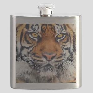 Siberian Tiger Male Flask