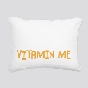 vitamin me Rectangular Canvas Pillow