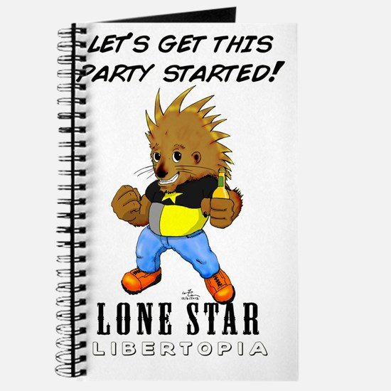 Leon On White #001 Journal
