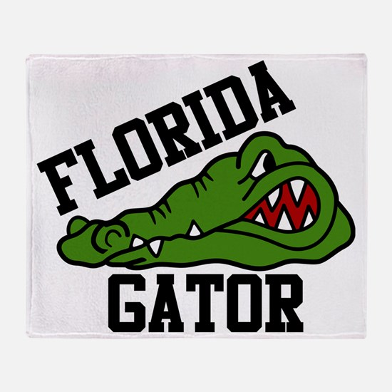 Florida Gator Throw Blanket