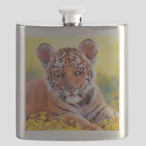 Tiger Baby Cub Flask