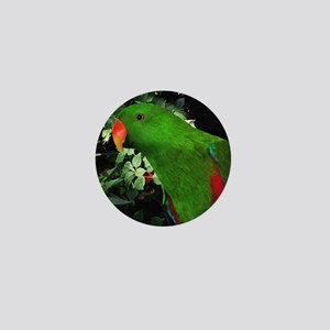 Eclectus Parrot Mini Button