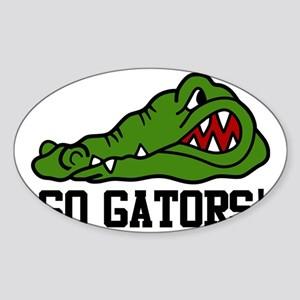 Go Gator Sticker (Oval)