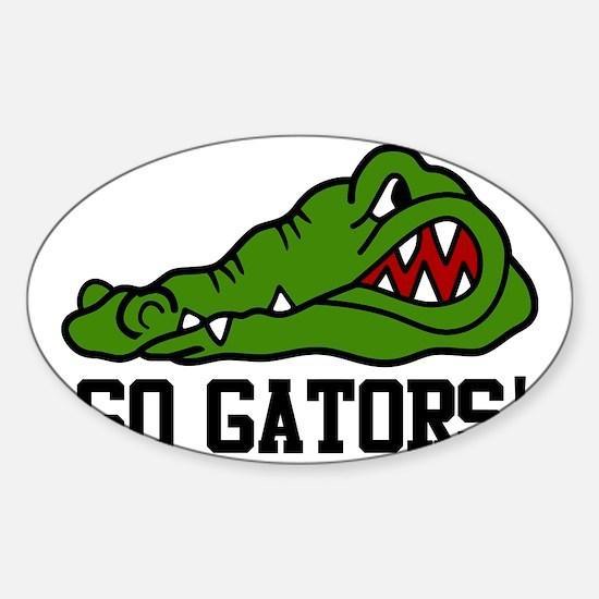 Go Gator Sticker (Oval)