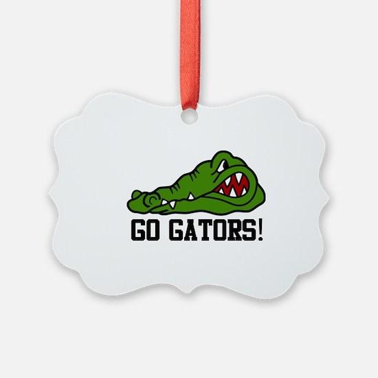 Go Gator Ornament