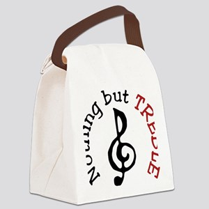 Nothing But Treble Canvas Lunch Bag