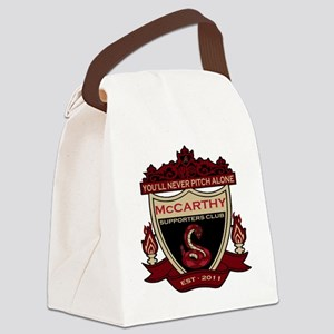 YNPA D Backs Canvas Lunch Bag