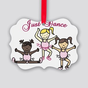 Just Dance Picture Ornament