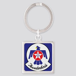 U.S. Air Force Thunderbirds Square Keychain