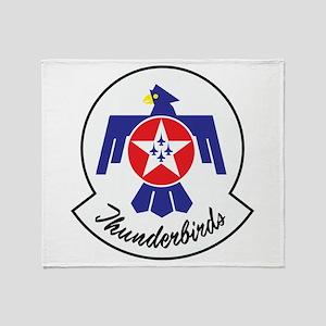 U.S. Air Force Thunderbirds Throw Blanket