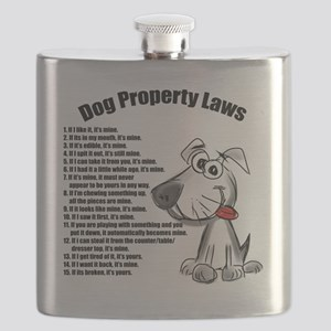 Dog Property Laws Flask