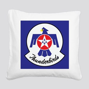 U.S. Air Force Thunderbirds Square Canvas Pillow