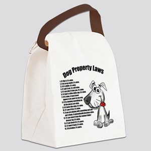 Dog Property Laws Canvas Lunch Bag