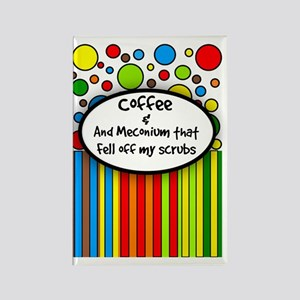 Coffee and Meconium 2 Rectangle Magnet