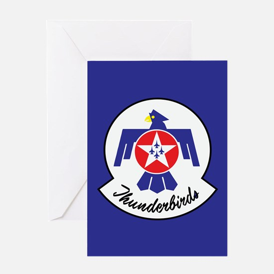 U.S. Air Force Thunderbirds Greeting Card