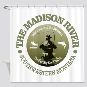 Madison River FF Shower Curtain