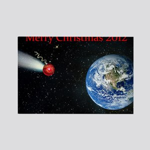Christmas comet 2012 Rectangle Magnet
